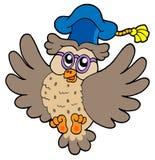 Flying owl teacher Stock Photos