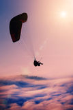 Flying paraglide Royalty Free Stock Image