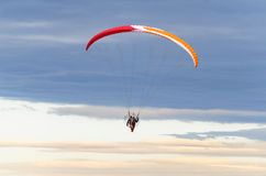 Flying paraglider Stock Photos