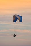 Flying - paragliding Royalty Free Stock Photos