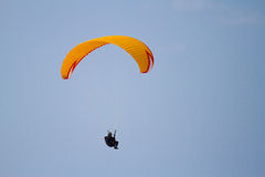 Flying a Parasail Royalty Free Stock Images