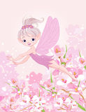 Flying Pixy Fairy Stock Image