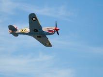 Flying plane in Caldwell, Idaho Stock Photography