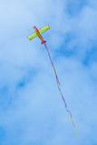 Flying Plane Kite Stock Image