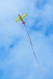 Flying Plane Kite Stock Image