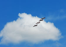 Flying planes Royalty Free Stock Photo