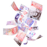 Flying Pounds Stock Photo