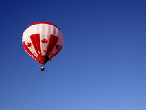 Flying Proud. Taken at the Gatineau Hot Air Balloon Festival Stock Image