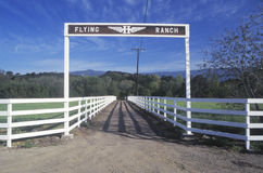 Flying Ranch Royalty Free Stock Image