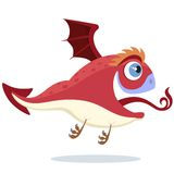 Red little dragon Royalty Free Stock Photos