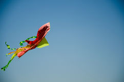 Flying red-snake Royalty Free Stock Images