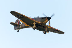 Flying restored Hurricane Royalty Free Stock Photos