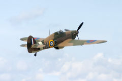 Flying restored Hurricane Royalty Free Stock Photo
