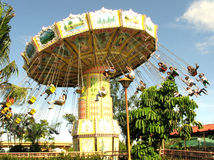 Flying Ride. Flying fiesta at Enchanted Kingdom, Laguna Philippines Stock Photos
