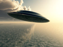 Flying Saucer Stock Images
