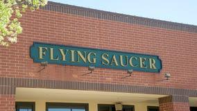 Flying Saucer Draught Emporium Stock Photos