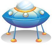 A flying saucer Stock Image