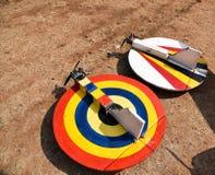 Flying saucer models Stock Image