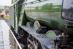 The Flying Scotsman. Brunswick green the people's engine locomotive ratenswell stock photos