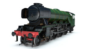 Flying Scotsman. 3D Model of The Flying Scotsman stock image
