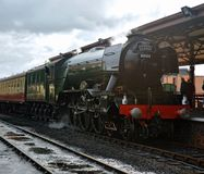 Flying Scotsman. When on West Somerset Railway royalty free stock image