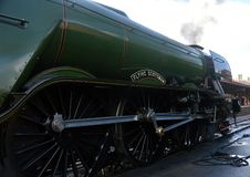 Flying Scotsman. When on West Somerset Railway royalty free stock photos