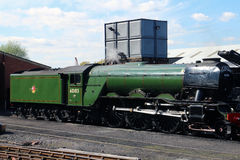 Flying scotsman locomotive Stock Photography