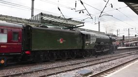 The Flying Scotsman stock footage