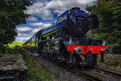 The Flying Scotsman. stock images