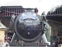 The flying Scotsman. Flying Scotsman train steam train steamtrain stock images
