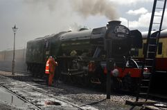 Flying Scotsman. When on West Somerset Railway royalty free stock photography