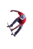Flying skateboarder Stock Photos
