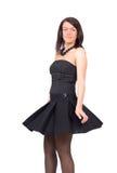 Flying skirt Stock Photo
