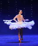 Flying skirt-Quickstep-the Austria's world Dance Stock Photos