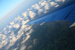 FLYING IN THE SKY Royalty Free Stock Photo