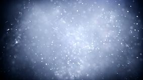 Flying sparks, abstract animation of flying particles stock video footage