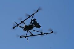 Flying Spy Surveillance Bug Stock Photo