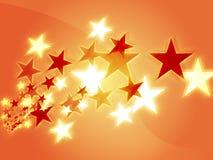 Flying stars Stock Photos