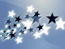 Flying stars Stock Photography