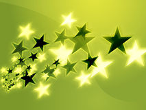 Flying stars Royalty Free Stock Photography