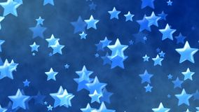 Flying Stars, Abstract Background. Abstract Background with nice flying stars Royalty Free Stock Photography