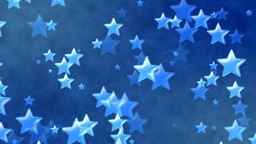 Flying Stars, Abstract Loopable Background. HD Loopable Abstract Background with nice flying stars for club visuals, LED installations, broadcasting featuring royalty free illustration