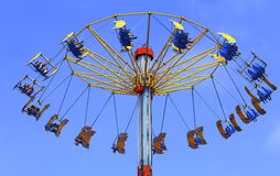 Flying swing at ocean park hong kong Royalty Free Stock Photography