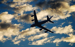 Flying tanker Royalty Free Stock Photos