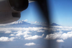 Flying in tanzania Stock Photos