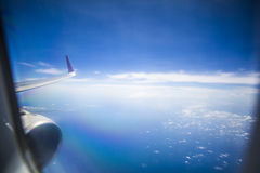 Flying to Destination Royalty Free Stock Photo