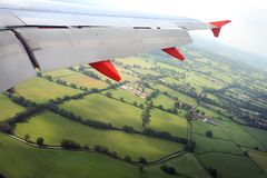 Flying to your destination Royalty Free Stock Photography