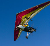 Flying an ultralight Royalty Free Stock Photography
