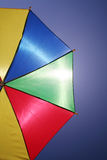 Flying umbrella Stock Photos