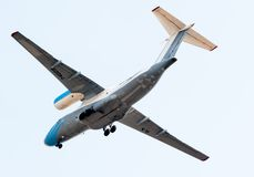Flying AN-74 of Utair Cargo company Stock Photo
